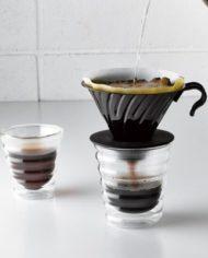 hario v60 coffee glass pourover